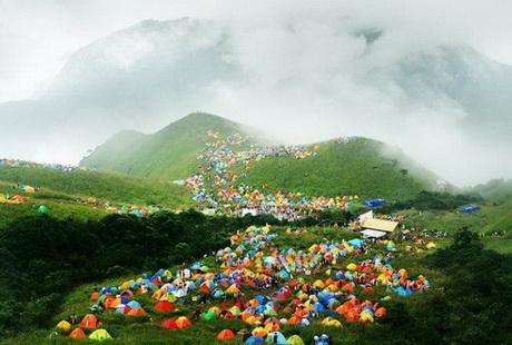 南昌到武功山帐篷2日游 天上草原、人间仙境、户外天堂